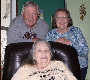 Loretta Fairchild, center, Tom Bonzo and Laura Howell. (Carrie Stambaugh)
