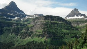 The glaciated peaks of Glacier National Park. (Photo by Carrie Stambaugh).